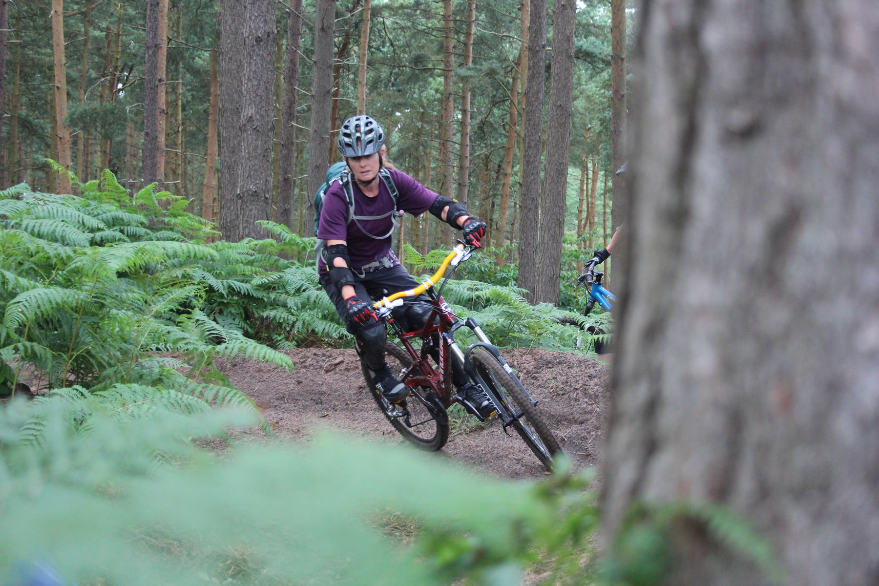 Womens specific mountain bike skills training
