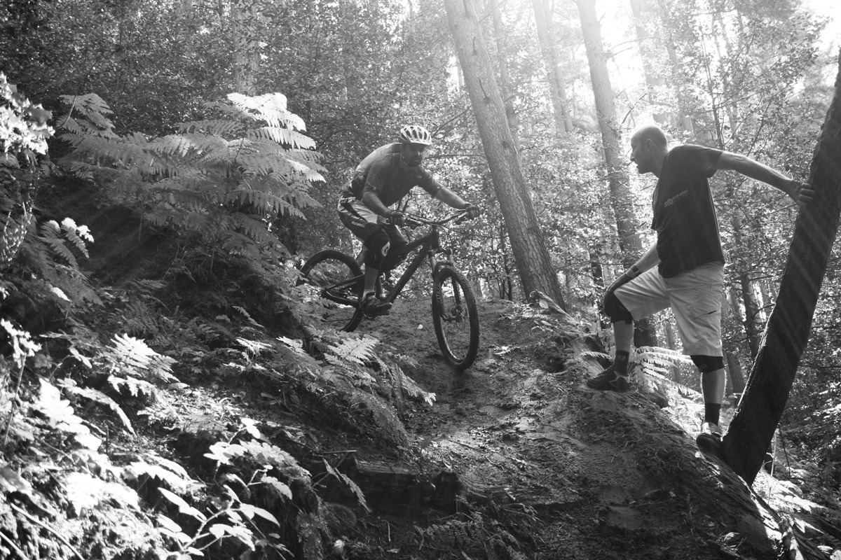 MTB Instruction, mountain bike skills courses UK