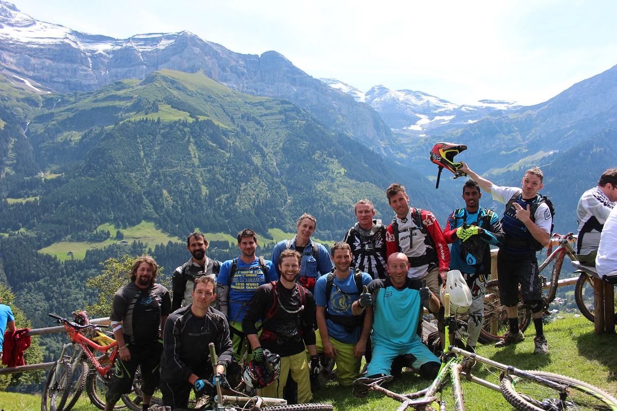 Reservoir Goats Club Champery 2014