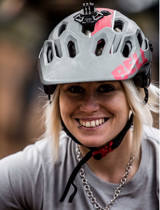 Suzanne Lacey, Mountain bike skills coach and guide