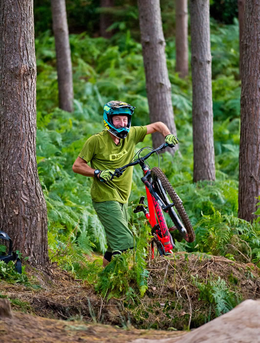 Mark James MTB Skills Coach and MIAS Trainer and Assessor